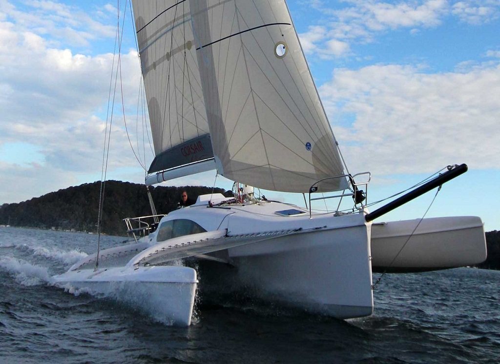 Trimaran Reviews Corsair 37CR
