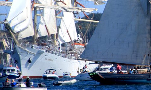 Tall Ships events of Falmouth Bay