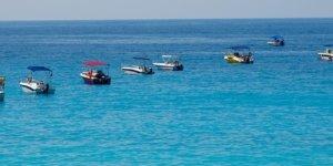 boats anchored in ocean
