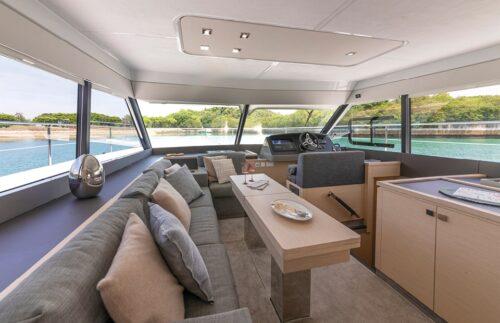 environmentally friendly catamaran