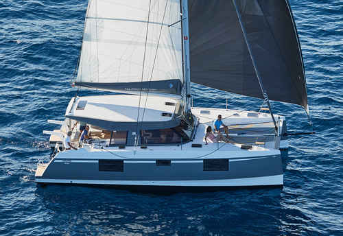 Nautitech catamaran over 40 feet