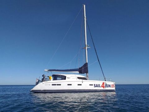 Nautitech sailing catamaran
